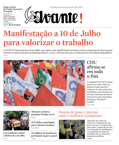 Orgão Central do Partido Comunista Português