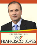 Presidenciais 2011   Francisco Lopes